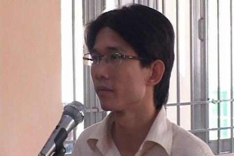 Activist Dinh Nhat Uy