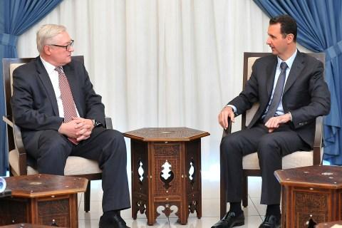 Bashar Assad, Sergei Ryabkov