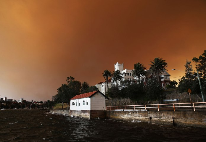 Huge Bushfires hit New South Wales, Australia - 17 Oct 2013