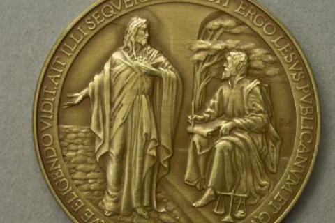 Jesus Lesus Vatican coin typo