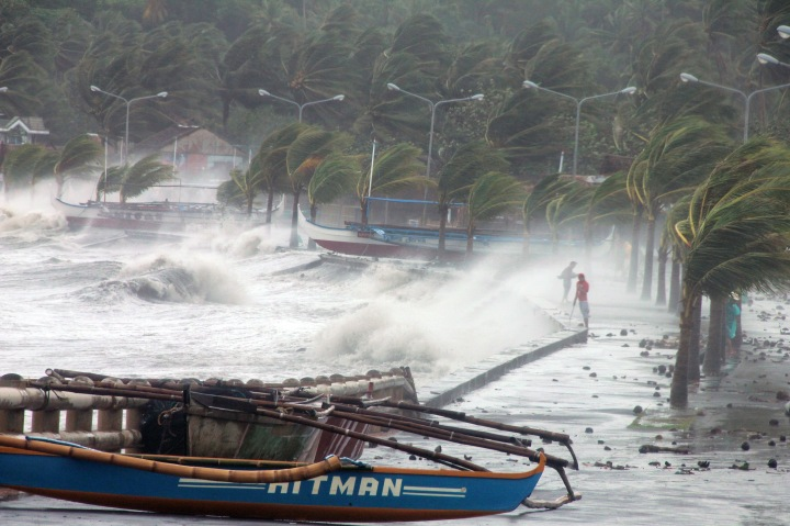 PHILIPPINES-WEATHER-TYPHOON