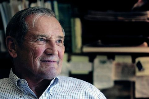 Retired finance executive Merrill Newman is seen in photo taken in Palo Alto, California