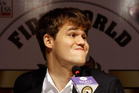 Norway's Magnus Carlsen