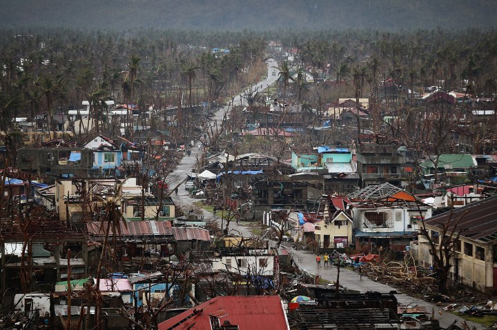 Humanitarian Efforts Continue Following Devastating Super Typhoon