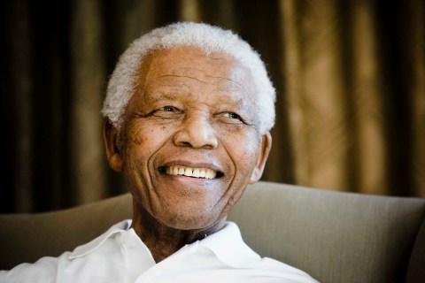 Former South African President Nelson Mandela at the Mandela foundation, in Johannesburg, South Africa,  June 2, 2009.