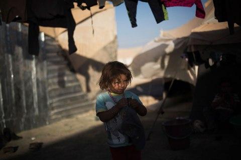 APTOPIX Mideast Syrian Refugees Camp Life