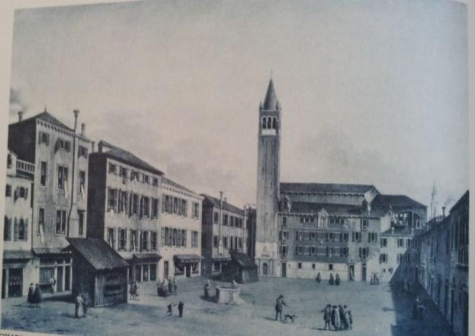 Canaletto, Piazza Santa Margherita