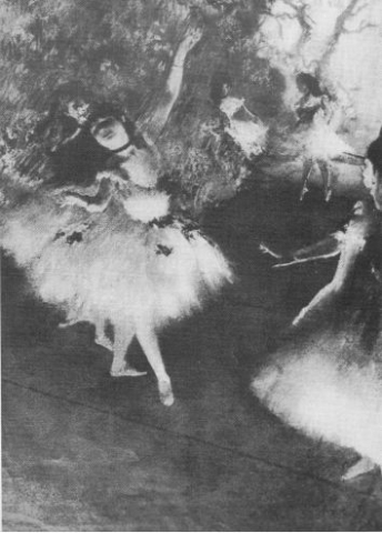 Edgar Degas, Five Dancing Women (Ballerinas)