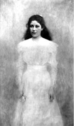 Gustav Klimt, Portrait of Trude Steiner