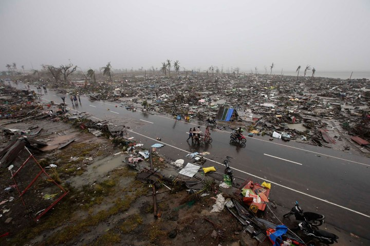 Typhoon Haiyan aftermath in the Philippines