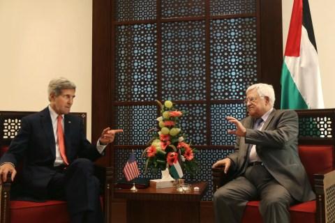Mideast Israel Palestinians US Kerry