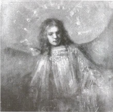 Rembrandt van Rijn, An Angel with Titus' Features