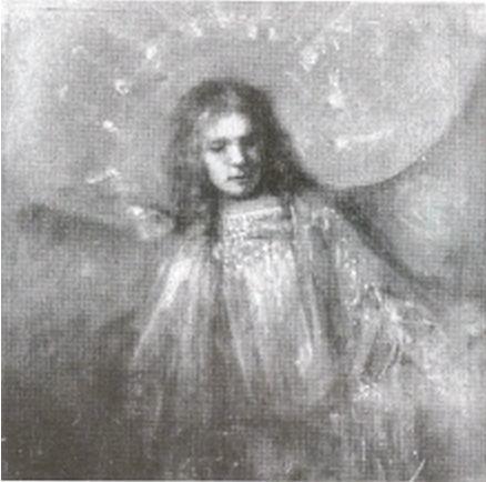 Rembrandt van Rijn, An Angel with Titus' Features