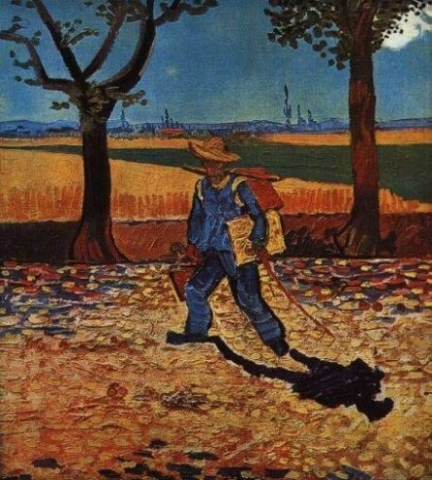 Vincent Van Gogh, The Painter on the Road to Tarascon