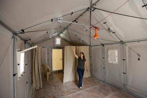 Mideast Lebanon Refugee Housing