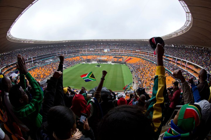 Late South African Nelson Mandela death memorial