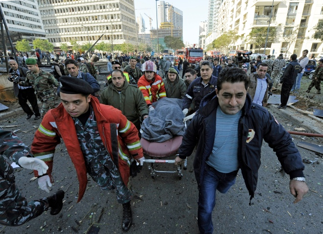At least five killed in Beirut car bombing