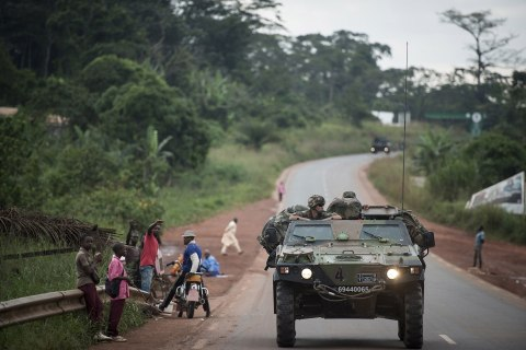 CENTRAFRICA-UNREST-FRANCE-BRITAIN-MILITARY