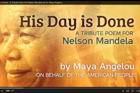 Maya Angelou Nelson Mandela