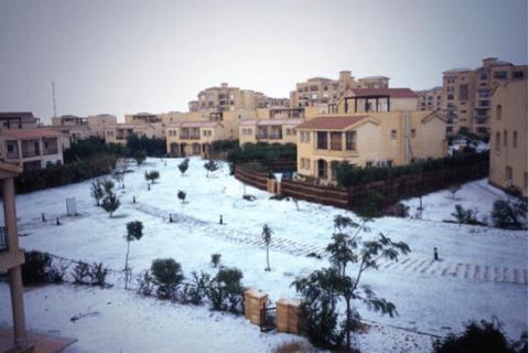 Cairo Snow Twitter