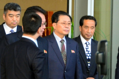 Jang Sung-Taek Visits China