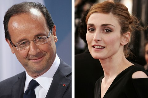 In Profile: Francois Hollande And Julie Gayet In The Media