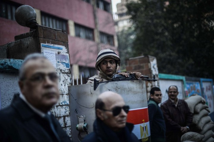 Egyptians prepare for constitutional referendum