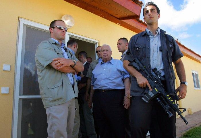 (FILES) Israeli Prime Minister Ariel Sha