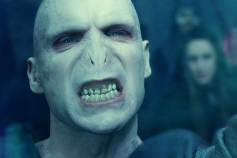 "The Real Look of Lord Voldemort from ""Harry Potter and the Goblet of Fire"""