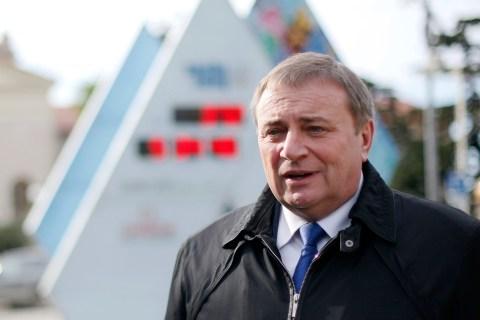 Sochi's Mayor Anatoly Pakhomov in Sochi, on Jan. 31, 2013.