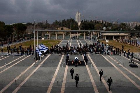 APTOPIX Mideast Israel Obit Ariel Sharon