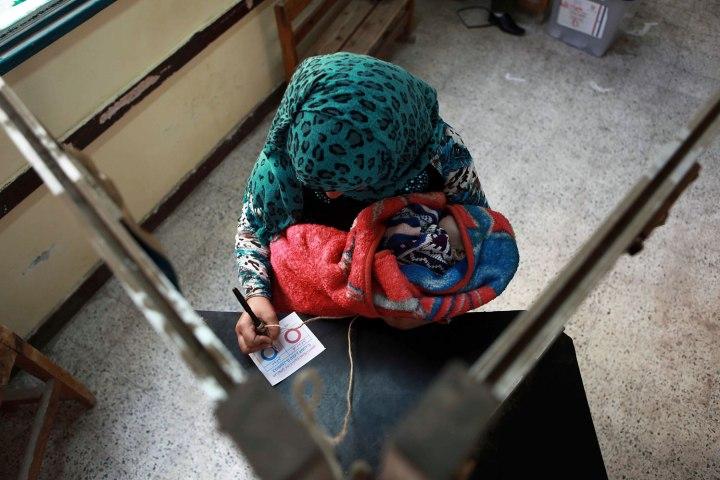 APTOPIX Mideast Egypt Constitutional Vote