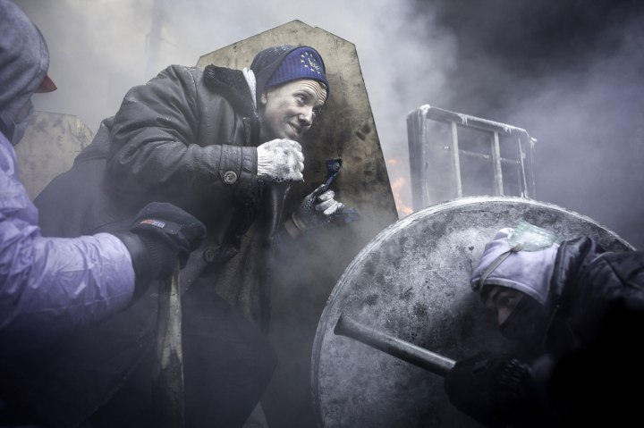 Ukraine: Street Fights in Kiev
