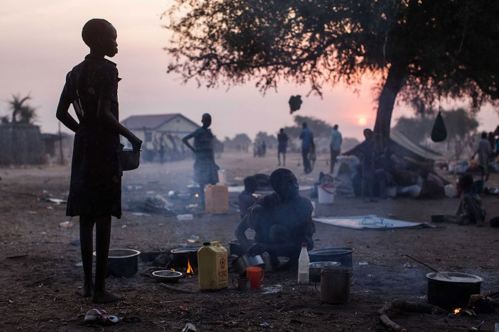 TOPSHOTS-SSUDAN-UNREST-REFUGEES