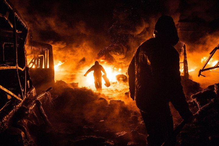 TOPSHOTS-UKRAINE-UNREST-EU-RUSSIA-POLITICS