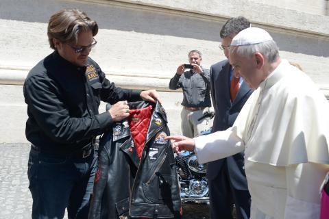 Vatican Pope Harley Jacket