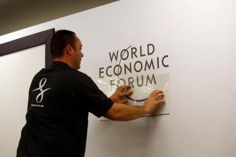 Preparations Ahead Of The Davos World Economic Forum