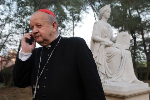 (FILE) Rev Stanislaw Dziwisz Publishes Pope John Paul II Personal Notes These ultra-modern cardinals are the face of the catholic church of the third millenium in Rome, Italy on December 30, 2008