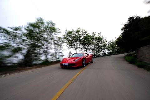 Ferrari 458 Italia Trial Experience Event