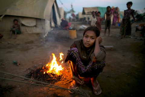 Rohingyas Crowd IDP Camps In Sittwe After Sectarian Violence