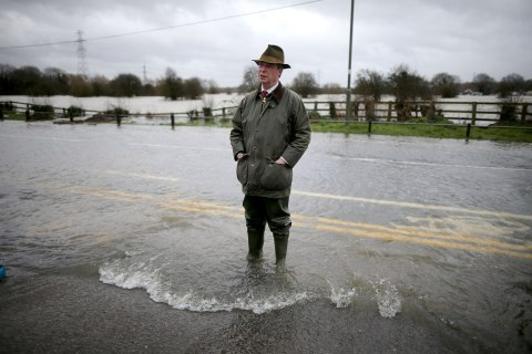 Flood Warnings Continue As More Rain Is Forecast Across England