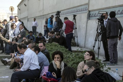 Journalists trial in Cairo