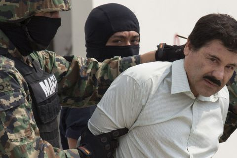 "Drug warlord ""El Chapo""  Captured in Mexico"