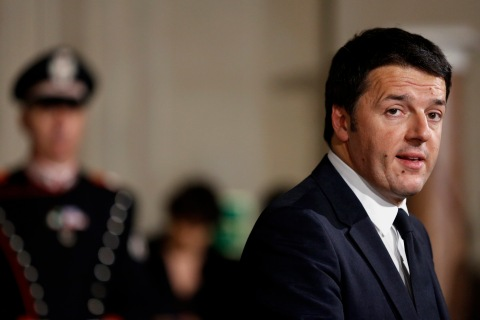 Incoming Italian Prime Minister Matteo Renzi News Conference