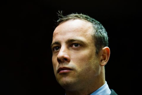 Oscar Pistorius appears in the Pretoria Magistrates court on June 4, 2013, in Pretoria, South Africa.