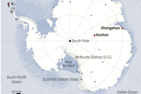 Research bases in Antarctica