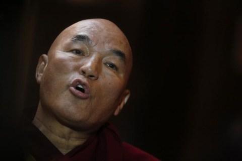 Tibetan monk Thubten Wangchen