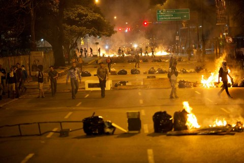 APTOPIX Venezuela Protests
