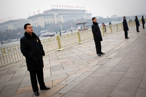 China raises security levels for top annual meetings