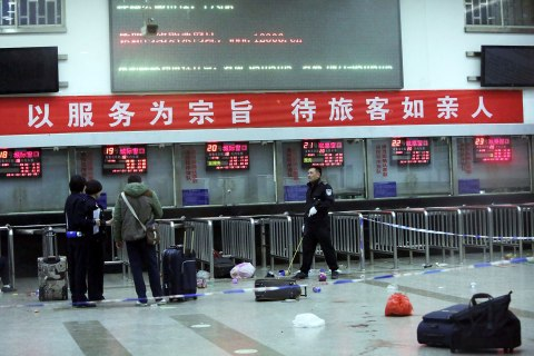TOPSHOTS-CHINA-VIOLENCE-KNIFE-ATTACK